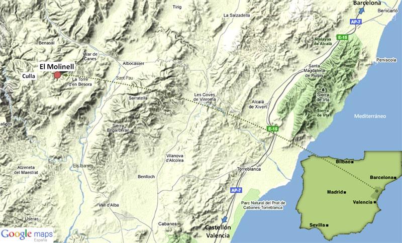 Mapa El Molinell